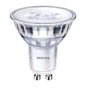 PHILIPS DIMMABLE GU10 LED WARMGLOW  4.6W  6X PACK - Save 70% £9.89 @ Screwfix