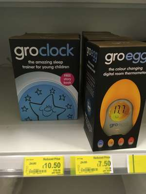 Gro-Clock £10.50 @ Asda Slough (down from £34.95!)