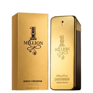 PACO RABANNE 1 MILLION FOR HIM EAU DE TOILETTE 200ML £60.00 at Mankind