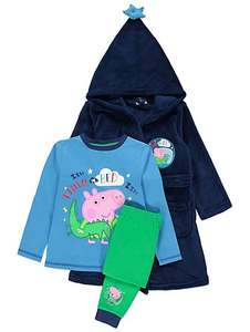 George Pig Dressing Gown and Pyjamas From £14 @ george Asda (C&C)