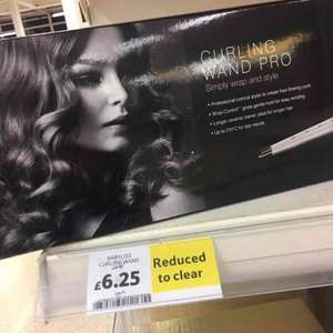 BaByliss 2285CU Curling Wand Pro Styler with 25mm Barrel - £6.25 instore @ Tesco (Cardiff)