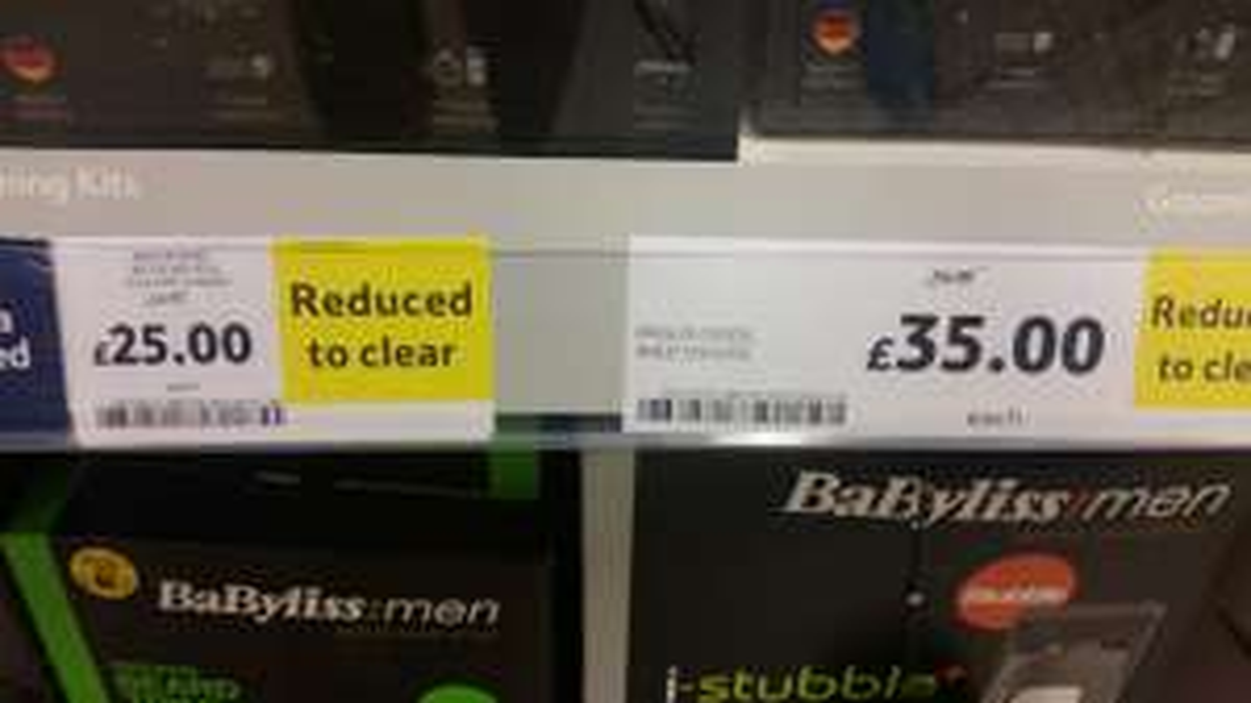 Braun 3080S Wet and Dry Shaver *INSTORE* Tesco instore (Bangor) - £35