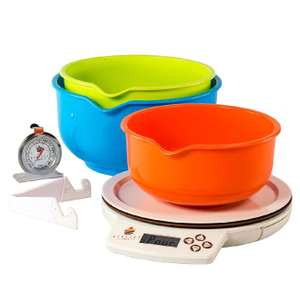 Perfect Bake Scale and App- £6.99 (Prime) / £11.24 (non Prime) Sold by Sound Camera Action and Fulfilled by Amazon
