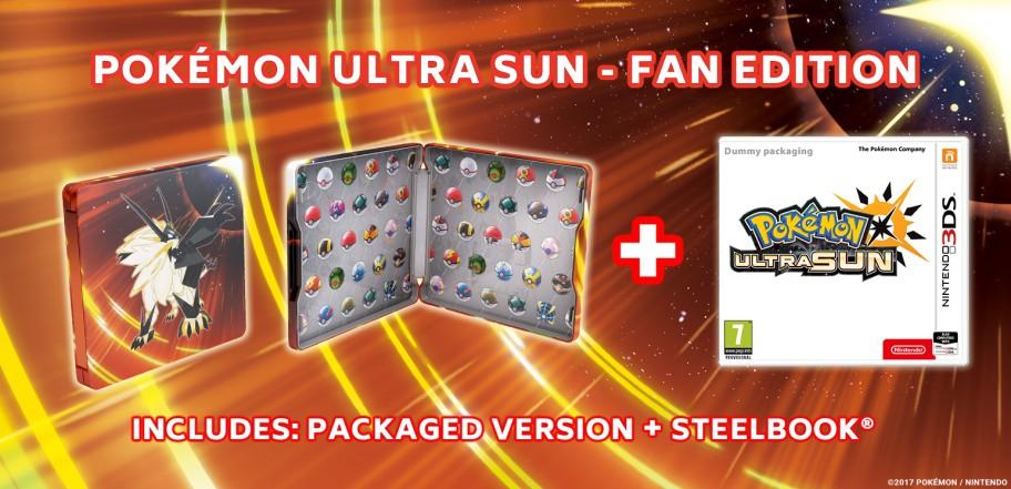 Pokemon Ultra Sun - Fan Edition (£33 - Tesco Direct) Use Code - TDX-HMFR