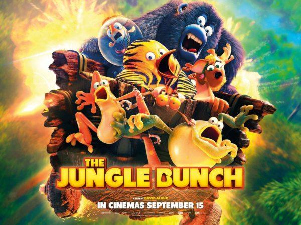 The Jungle Bunch - Sunday 3rd September - Show Film First, Code JUNGLEBUNCH