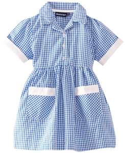 Blue Max Banner Girl's Ayr Short Sleeve Gingham School Dress  £10.40 (Prime) / £14.39 (non Prime) at Amazon