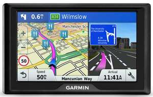 "Garmin Drive 50 LM 5"" Sat Nav with UK and Ireland Maps + FREE lifetime updates now £67.50 using code @ Halfords + More"
