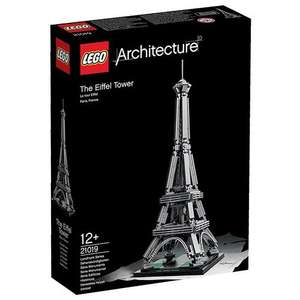 LEGO Architecture 21019 The Eiffel Tower - £17.99 (Prime) / £21.98 (non Prime) at Amazon