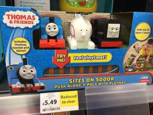 Thomas The Tank Playset - Tesco instore - £5.49