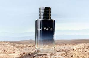 SAUVAGE - EAU DE TOILETTE 60ML £41.60 with code - with 2 free gifts and free delivery @ The fragrance shop