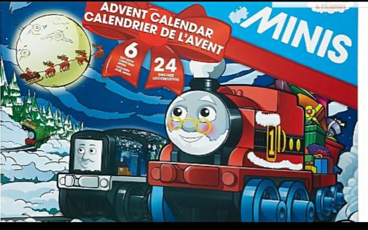 Thomas minis 2017 calendar £30 @ Asda online & instore