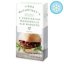Linda McCartney Mozzarella Burgers (2 = 227g) Half Price was £2.00 now £1.00 @ Tesco