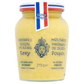 Grey Poupon Dijon mustard 215g  92p at Waitrose
