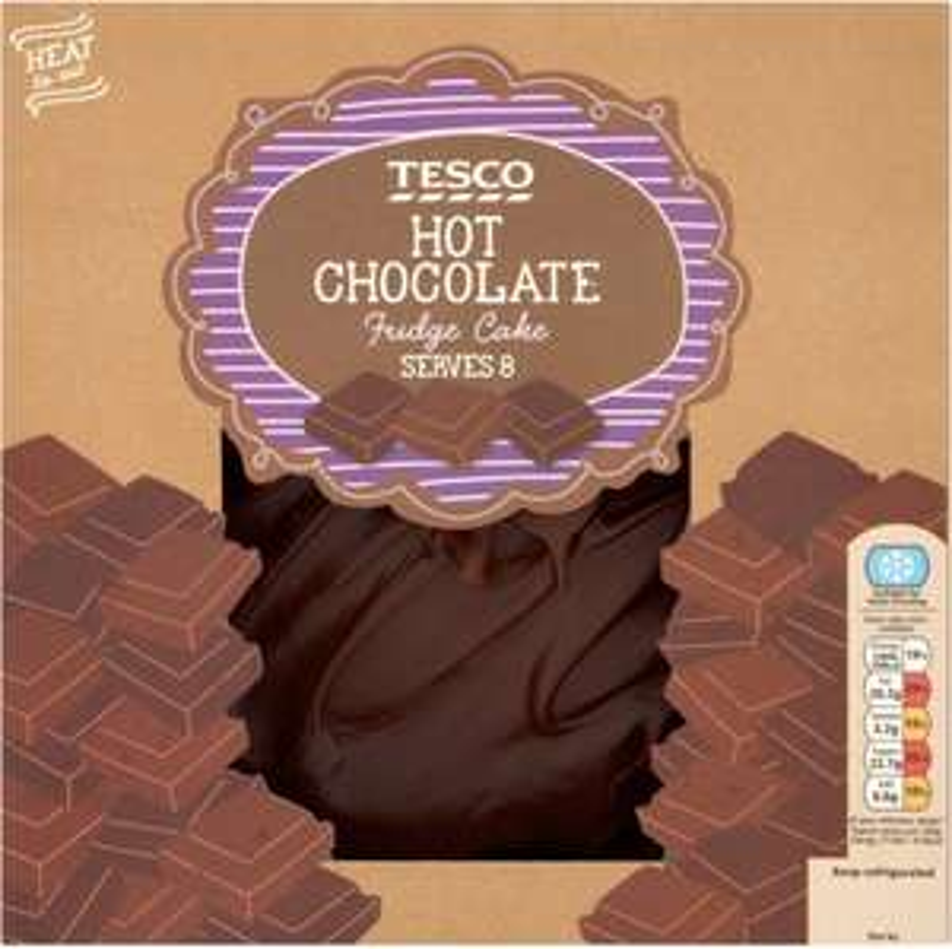 Tesco Chocolate Fudge Cake (700g) (Serves 6 to 8) was £5.50 now £2.75 @ Tesco