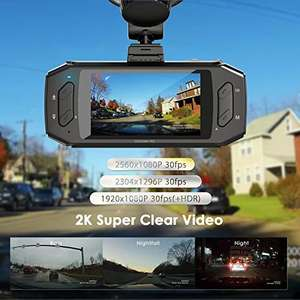 Vantrue R2 1296P Dash Cam - £59.99 - Sold by VANTRUE_EU and Fulfilled by Amazon