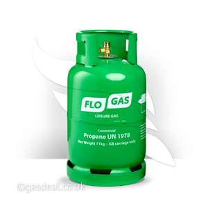 10% OFF 11kg Patio Gas Cylinder - £20.69 delivered @ Gasdeal