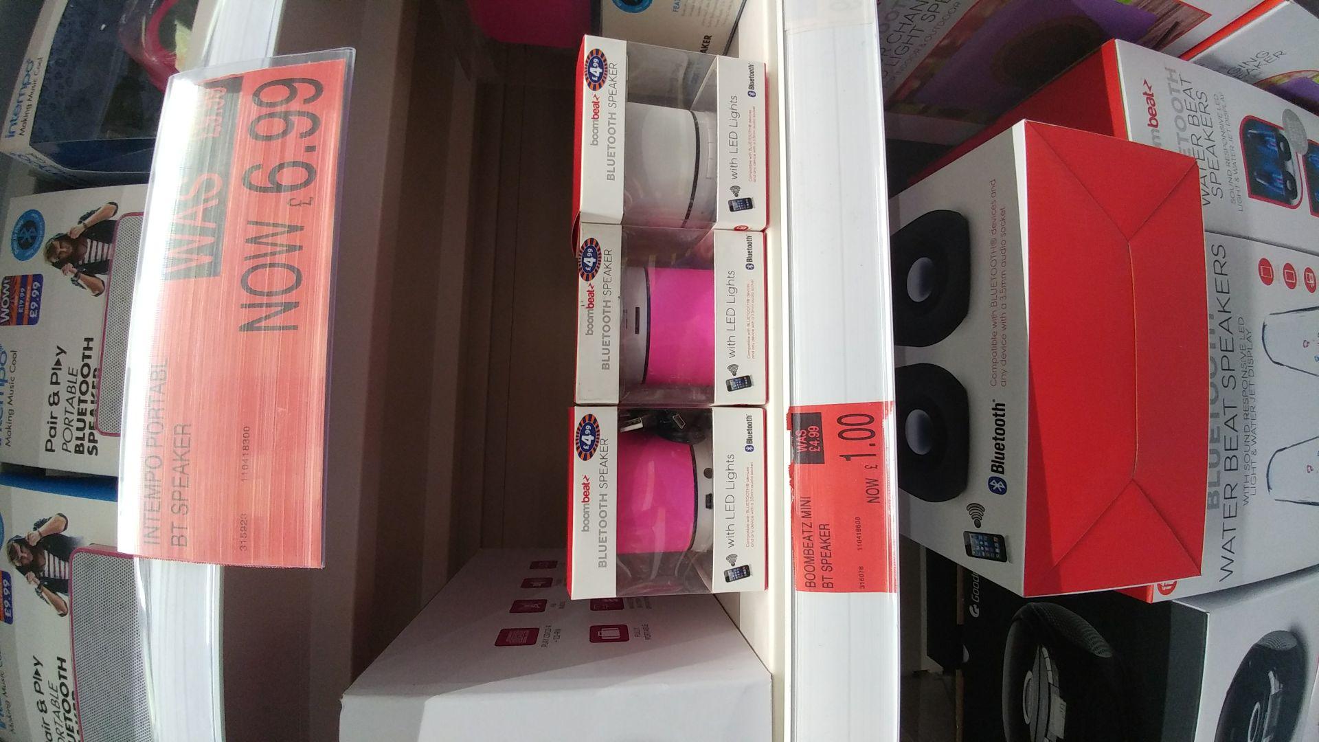 Bluetooth speaker £1 @ B&M