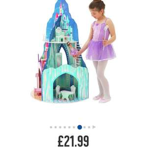 Chad valley 3 storey summer winter wooden dolls house £21.99 @ Argos