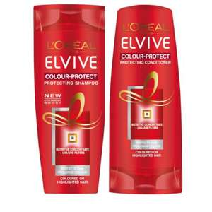 L'oreal colour protect shampoo and conditioner - £2.19 instore @ Savers