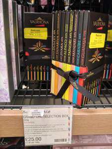 Valrhona Grand Cru chocolate selection box £25 down to £2.50 instore at Marks and Spencer in store