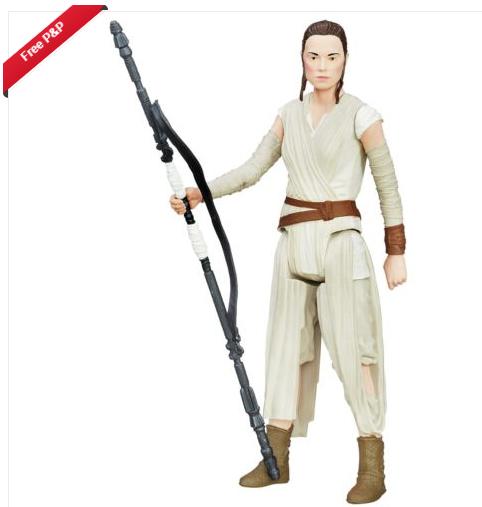 Star Wars Episode 7 Hero Series Rey £3.49 - Free P&P @ Argos / Ebay