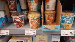 Make your own ice cream reduced even more at Asda - now only 75p!