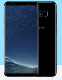 Samsung Galaxy S8 64GB Midnight Black/Orchid Grey FREE phone Unlimited minutes/Unlimited texts/30GB data £36.00  per month @ Affordablemobiles (via uswitch)