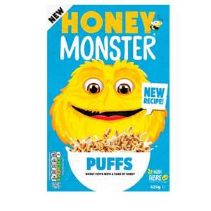 Honey Money Puffs Cereal (625g) ONLY £1.99 @ Poundstretcher