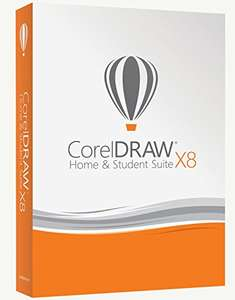 Corel Draw X8 home and student suite at Amazon for £53.21