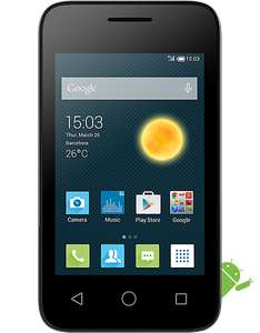 Alcatel pixi 3 smartphone  £1.99 plus £15 top up EE @ CarphoneWarehouse
