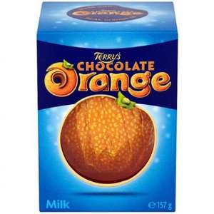 Terry's Chocolate Orange (157g) was £1.49 now £1.00 @ B&M