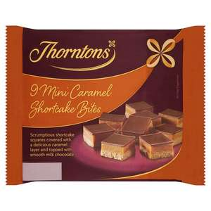 Thorntons Mini Caramel Shortcakes - 70p @ Tesco