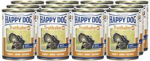 Happy Dog Wet Dog Food Pure Tinned Turkey, 400 g, Pack of 12, £5.23 (Prime) Or £9.18 (Non-Prime) @ Amazon