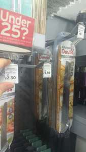 Kitchen Devil knives reduced to clear from £2.50 in Sainsbury's Brighton