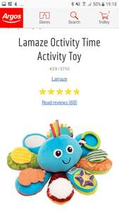Lamaze Octivity Time Activity Toy £5.99 @ Argos