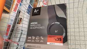 Sainsbury's KitSound Arena Bluetooth Headphones with Mic Black - £35 (instore at Welwyn Garden)