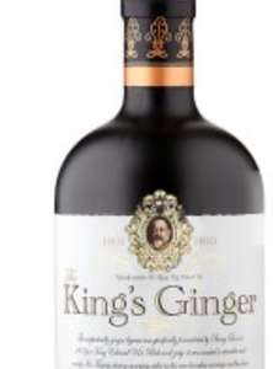 The King's Ginger at Waitrose for £18.50