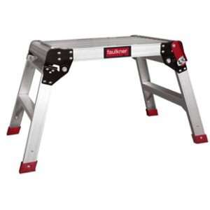Faulkner Hop Up Aluminium Work Platform £17.50 @ Homebase
