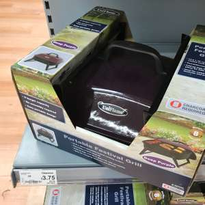 Uniflame Portable Festival Grill / BBQ @ Asda Home (Broughton) for £3.75
