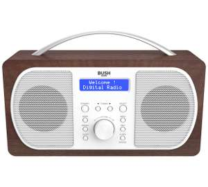 Bush Walnut Surround DAB Digital Radio £24.99 Argos