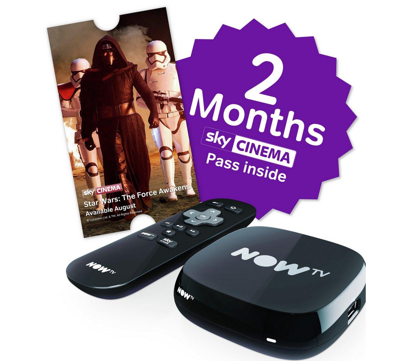Half price nowtv boxes  £12.49 Argos - now live