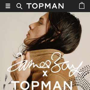 Topman Free Delivery