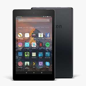 Amazon Fire 8 with Alexa HD 8 Inch 16GB Tablet £59 with Code @ Tesco Direct