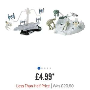 Hot wheels Star Wars mp track set at Argos down to £4.99