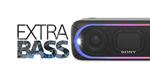 Sony SRS-XB30 Powerful Portable Wireless Speaker with Extra Bass and Lighting - Black £97.15 @ Amazon