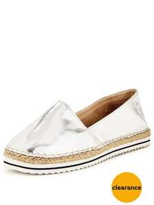 V by Very BeBe Sport Stripe Espadrille (Sizes 3 to 8) was £22.00 now £8.75 (In their Clearance Sale) @ Very