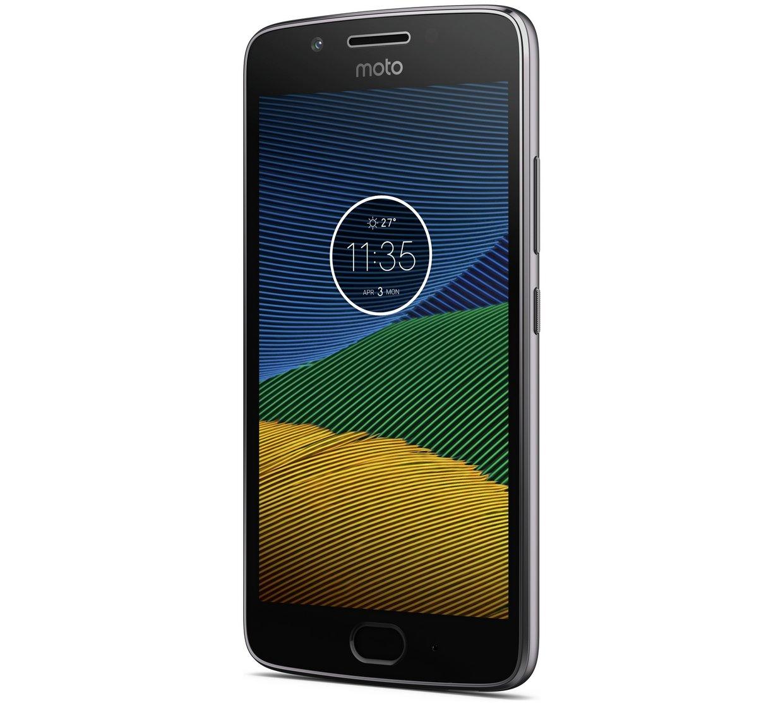 Sim Free Motorola Moto G5 Mobile Phone - Grey £149.95 - Argos