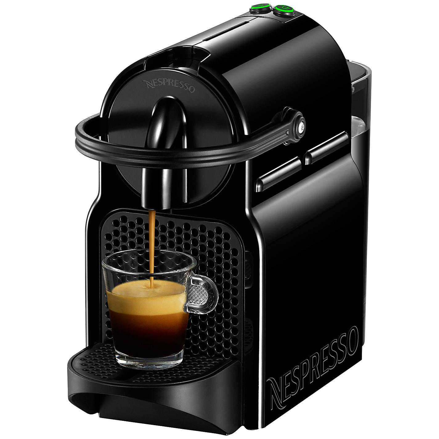 Nespresso Inissia Coffee Machine Black/Cream £49 @ John Lewis
