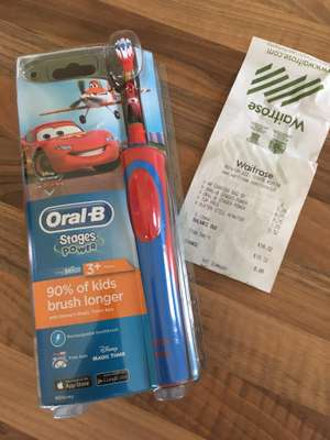 Oral B Disney Cars Toothbrush - £8.75 @ Waitrose instore