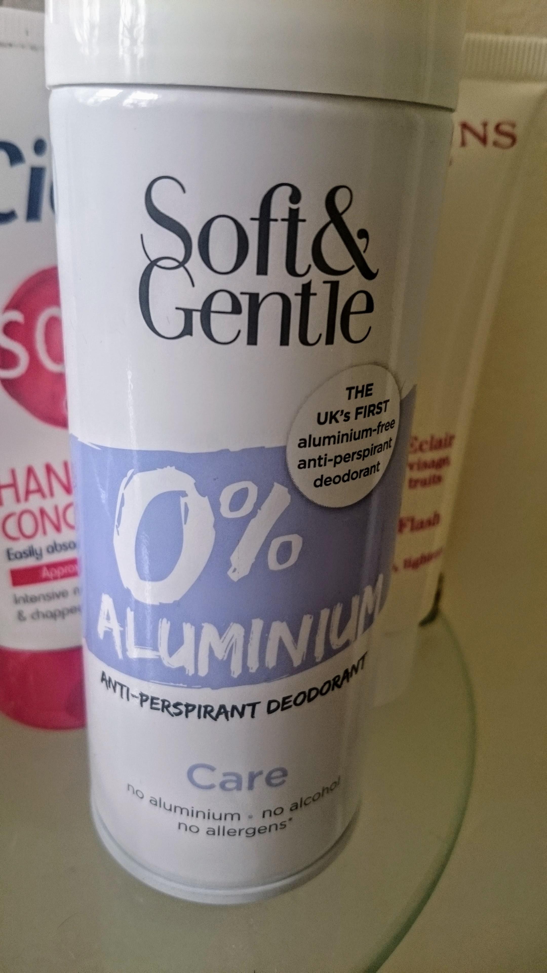 Soft & Gentle 0% Aluminium Dry Deodorant - £1 in Poundland